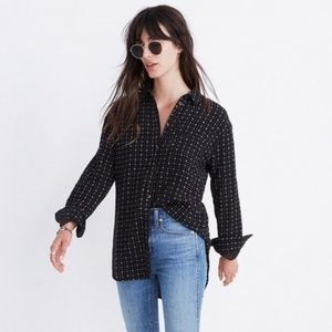 Madewell Ex-Boyfriend Floral Button Down